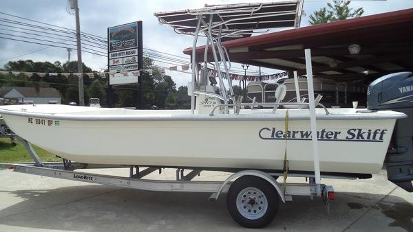 2011 CLEARWATER 210 DLSV SKIFF for sale