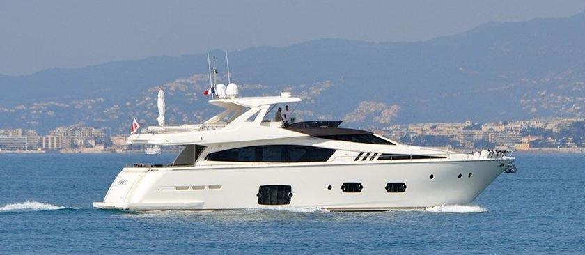 88.58 ft Ferretti Yachts 800
