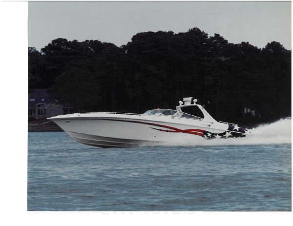 Fountain 47' Lightning High Performance Boats. Listing Number: M-3663597