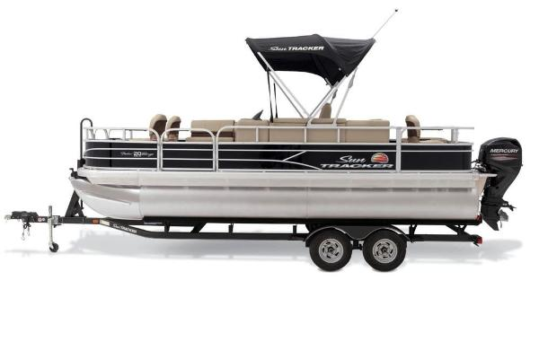 2019 Sun Tracker boat for sale, model of the boat is Fishin' Barge 20 DLX & Image # 14 of 20