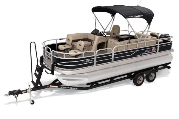 2019 Sun Tracker boat for sale, model of the boat is Fishin' Barge 20 DLX & Image # 3 of 20