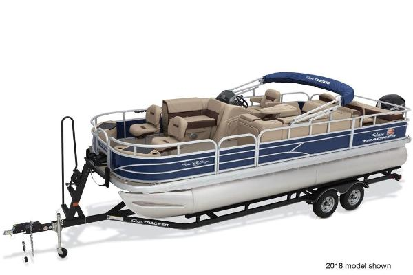 For Sale: 2019 Sun Tracker Fishin' Barge 22 Dlx 24.17ft<br/>Nobles  Marine