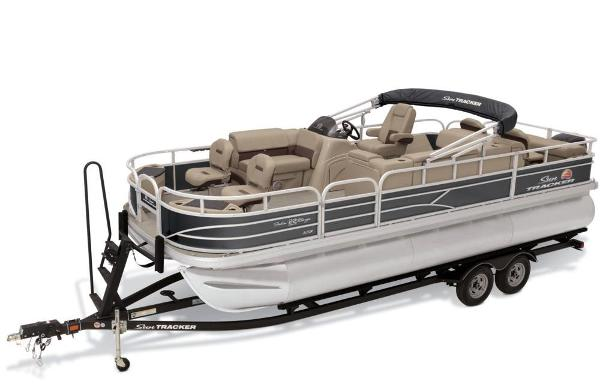 2019 Sun Tracker boat for sale, model of the boat is Fishin' Barge 22 XP3 & Image # 13 of 42