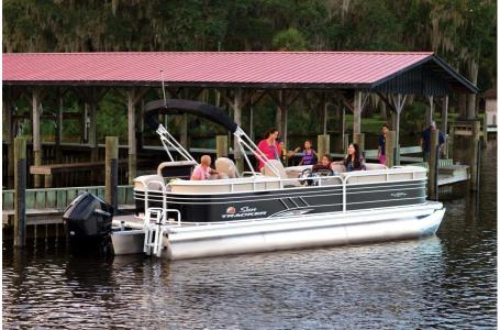 2020 Sun Tracker boat for sale, model of the boat is Party Barge 22 XP3 w/150L 4S & Image # 1 of 16