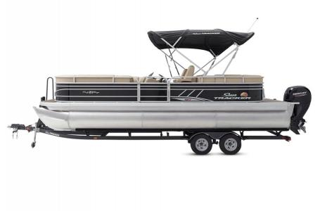 2020 Sun Tracker boat for sale, model of the boat is Party Barge 22 XP3 w/150L 4S & Image # 2 of 16