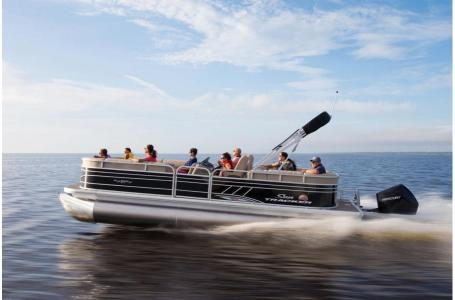 2020 Sun Tracker boat for sale, model of the boat is Party Barge 22 XP3 w/150L 4S & Image # 5 of 16