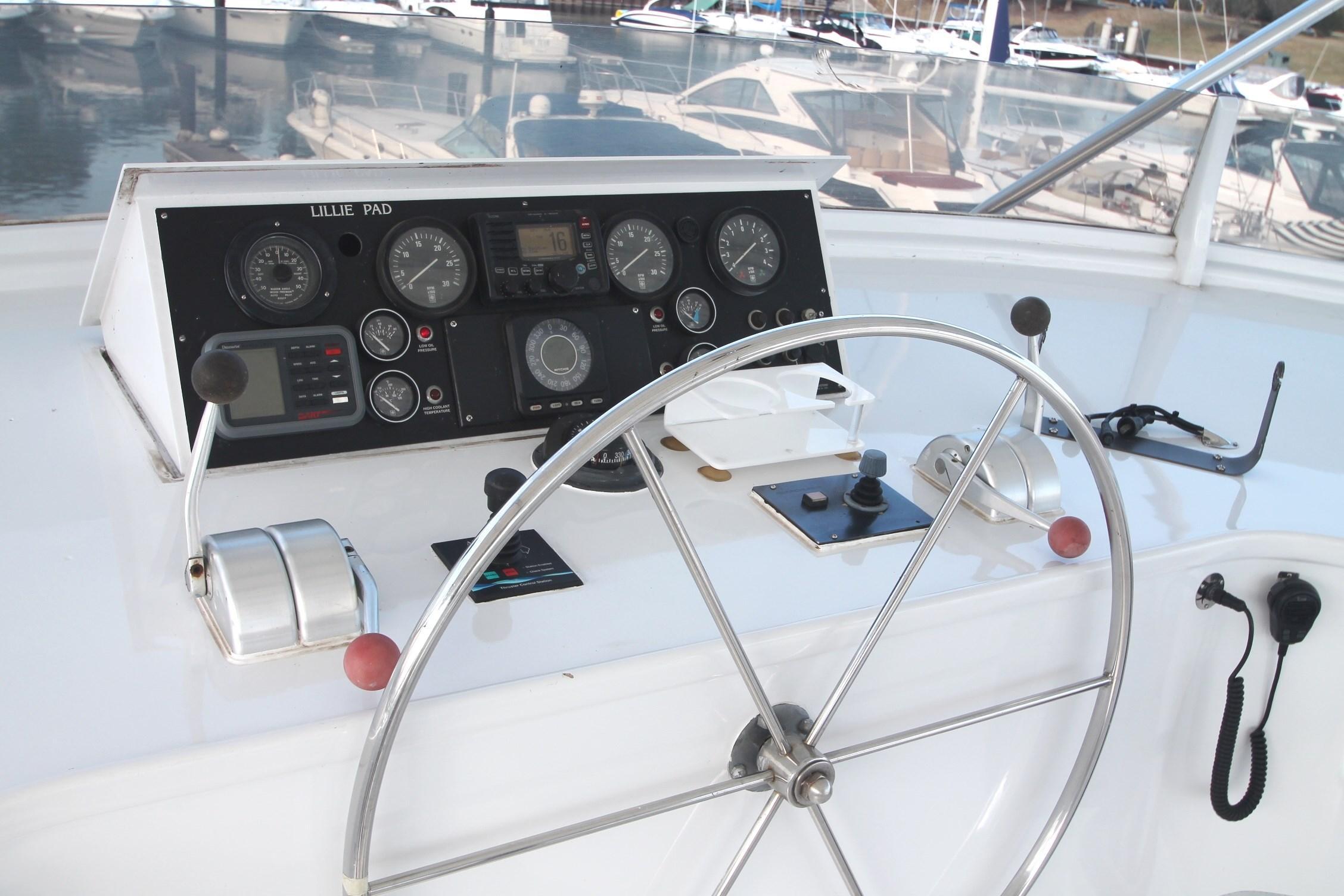 Bridge Helm--Instrument Cluster Opened