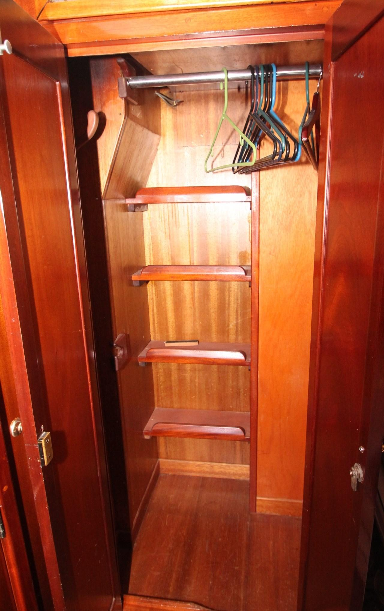 Hanging Locker in Captain's Quarters