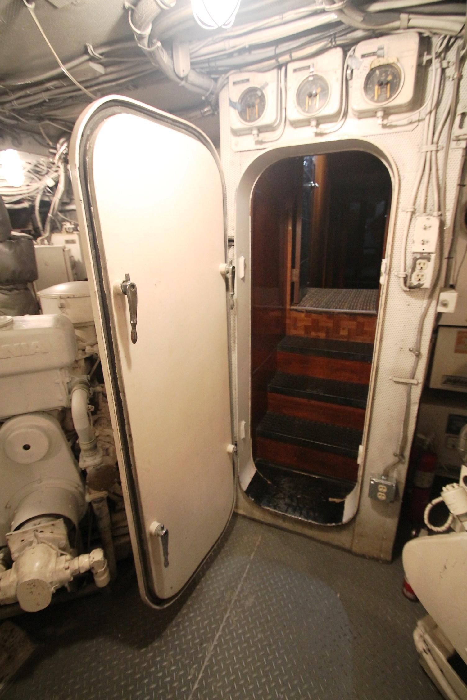 Engine Room Door