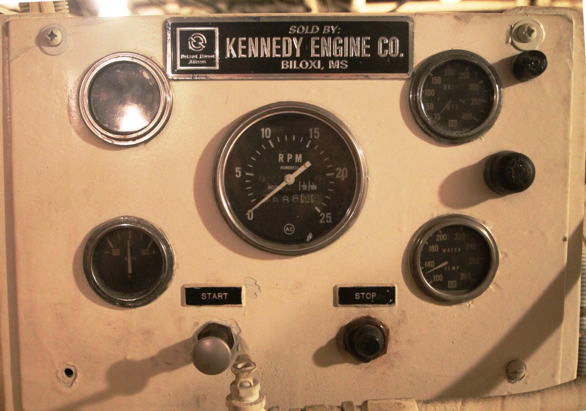 Stbd Engine Panel