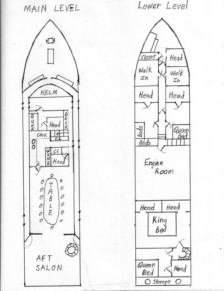 1968 106 ft Yacht For Sale | Allied Marine Master Bay S Wiring Diagram on
