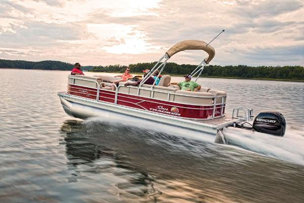2019 Sun Tracker boat for sale, model of the boat is Party Barge 22 XP3 & Image # 4 of 15