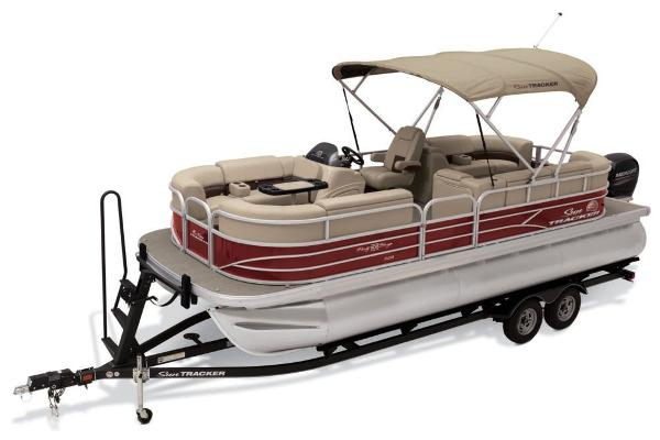 2019 Sun Tracker boat for sale, model of the boat is Party Barge 22 XP3 & Image # 3 of 15