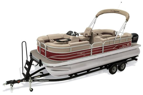 2019 Sun Tracker boat for sale, model of the boat is Party Barge 22 XP3 & Image # 2 of 15