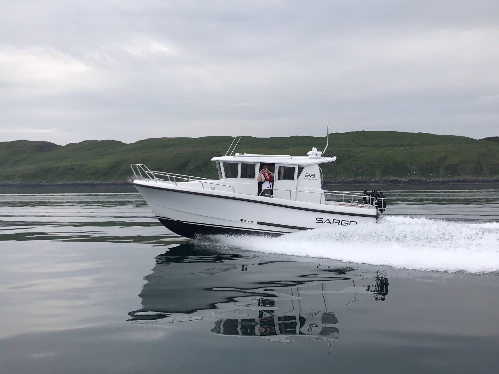 Sargo 28 - on the water