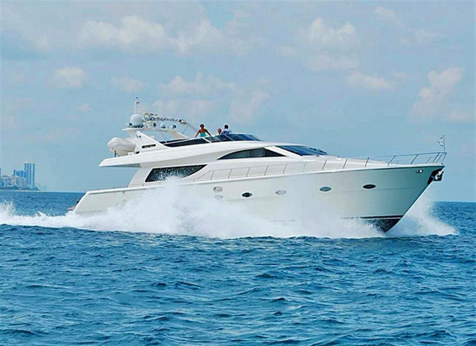 70' Uniesse Motor Yacht FOOLISH PLEASURE