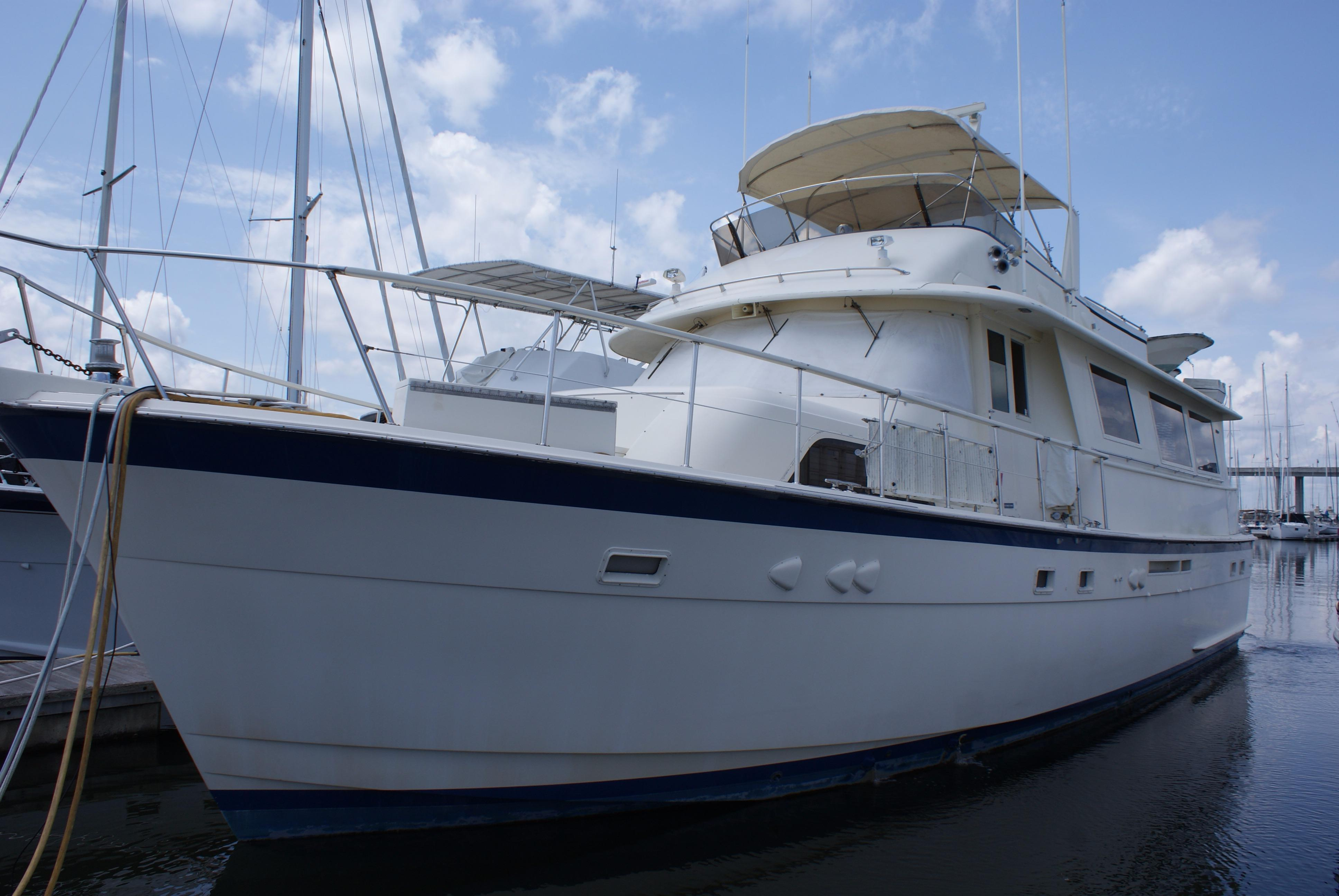 1985 hatteras 61 motor yacht for sale for Hatteras motor yacht for sale