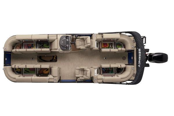 2019 Regency boat for sale, model of the boat is 250 LE3 & Image # 9 of 16