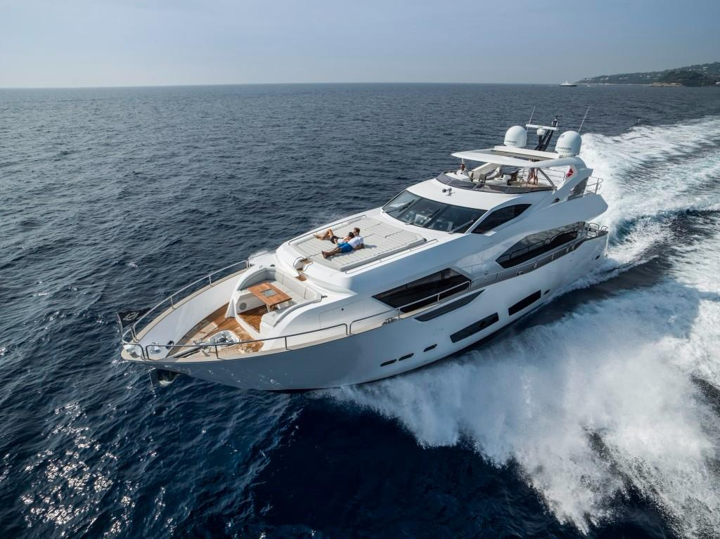 Manufacturer Provided Image: Sunseeker 95 Yacht