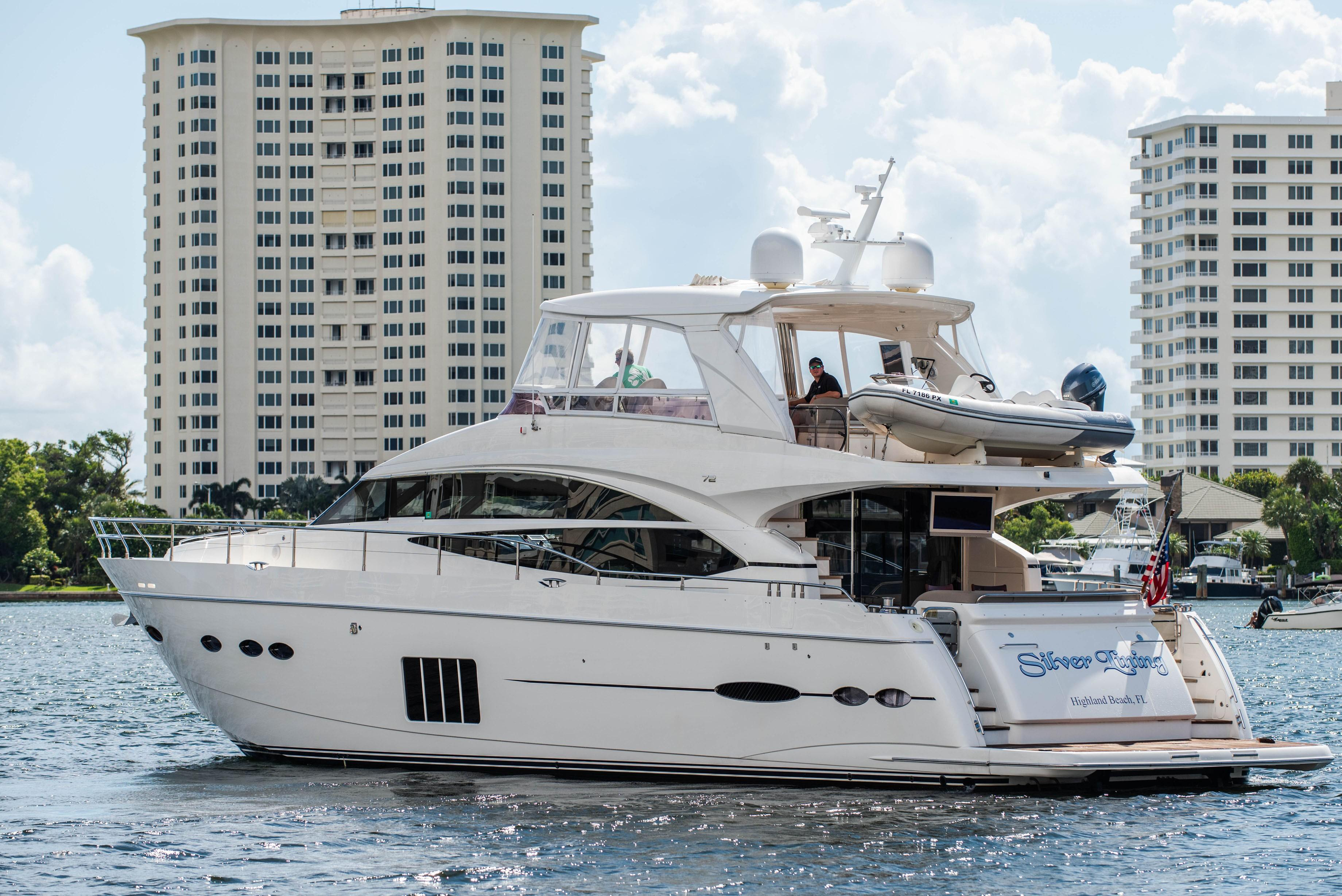 2013 Princess 72 Motor Yacht Yacht For Sale | Silver Lining