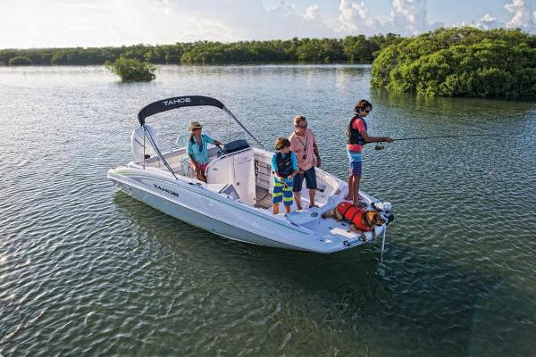 2019 Tahoe boat for sale, model of the boat is 2150 CC & Image # 6 of 33