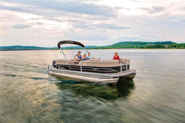 2019 Sun Tracker boat for sale, model of the boat is Party Barge 22 RF DLX & Image # 7 of 56