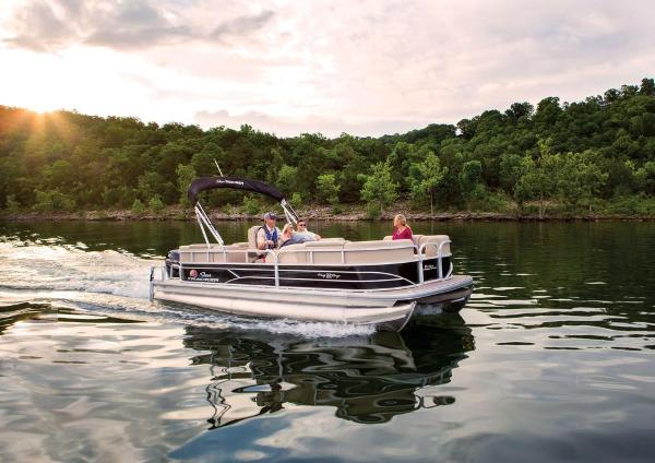2019 Sun Tracker boat for sale, model of the boat is Party Barge 22 RF DLX & Image # 9 of 56