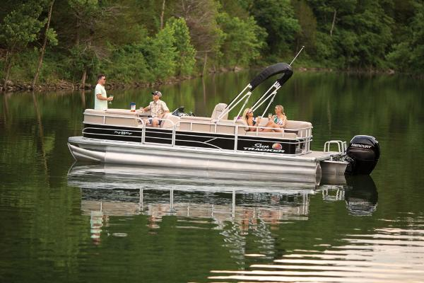 2019 Sun Tracker boat for sale, model of the boat is Party Barge 22 RF DLX & Image # 13 of 56