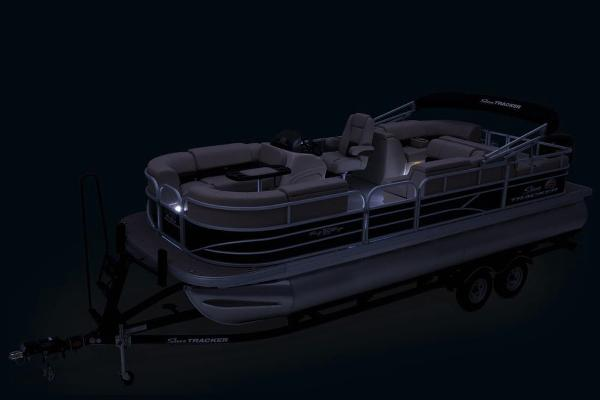 2019 Sun Tracker boat for sale, model of the boat is Party Barge 22 RF DLX & Image # 43 of 56
