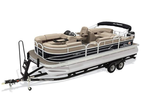2019 Sun Tracker boat for sale, model of the boat is Party Barge 22 RF DLX & Image # 45 of 56