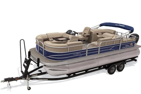 2019 Sun Tracker boat for sale, model of the boat is Party Barge 22 RF XP3 & Image # 1 of 22