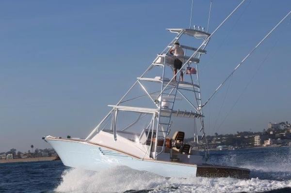Predator express fishing boat