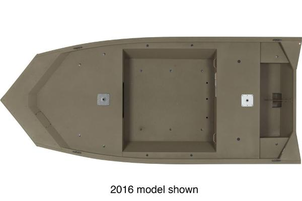 2017 Tracker Boats boat for sale, model of the boat is Grizzly 1448 MVX Jon & Image # 2 of 3