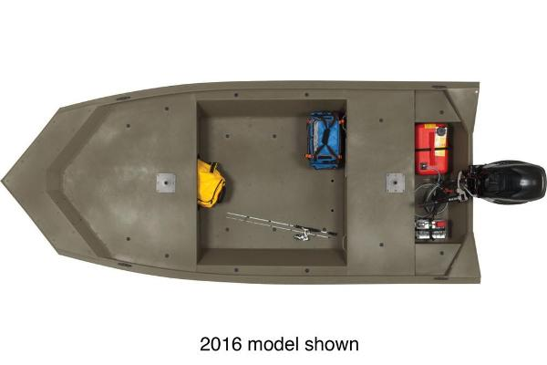 2017 Tracker Boats boat for sale, model of the boat is Grizzly 1448 MVX Jon & Image # 3 of 3