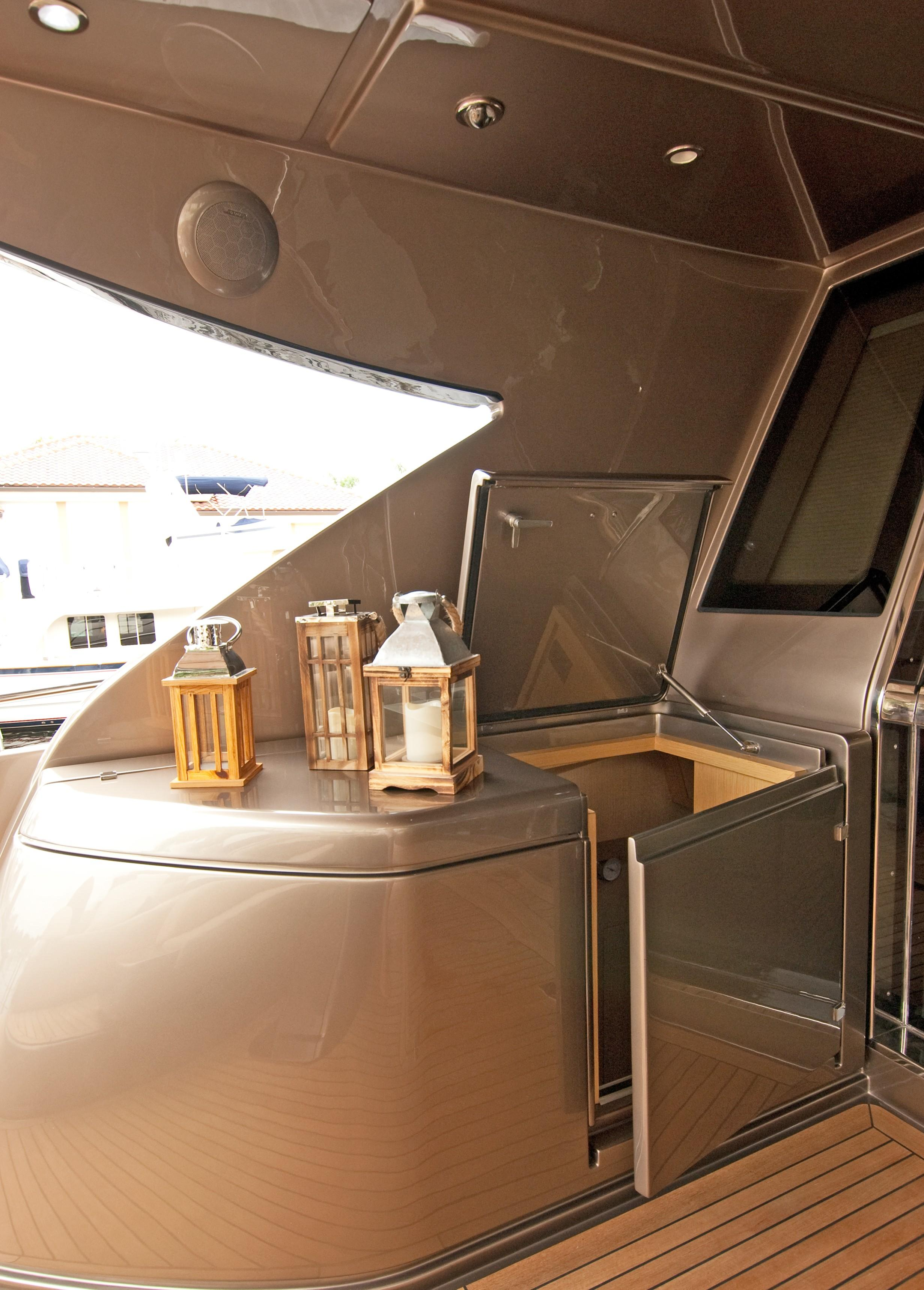 2012 Riva 86 Domino - Aft Deck