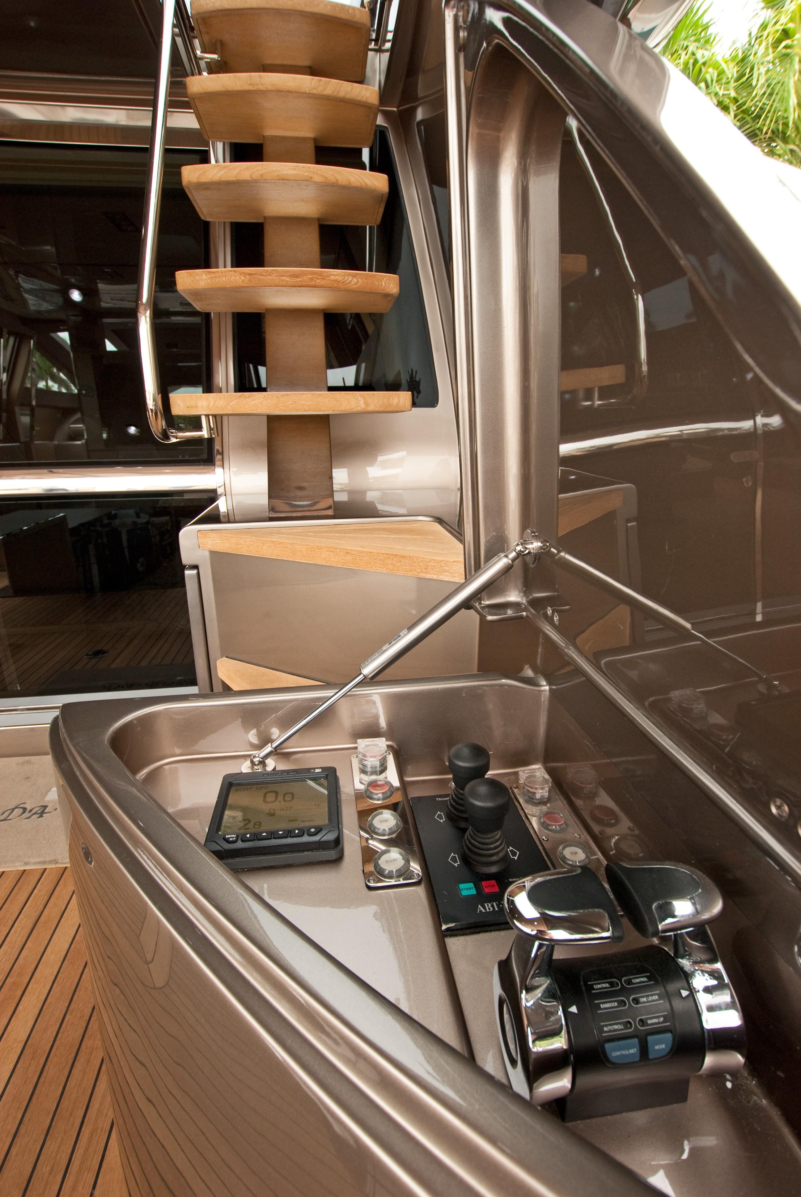2012 Riva 86 Domino - Aft Deck Controls