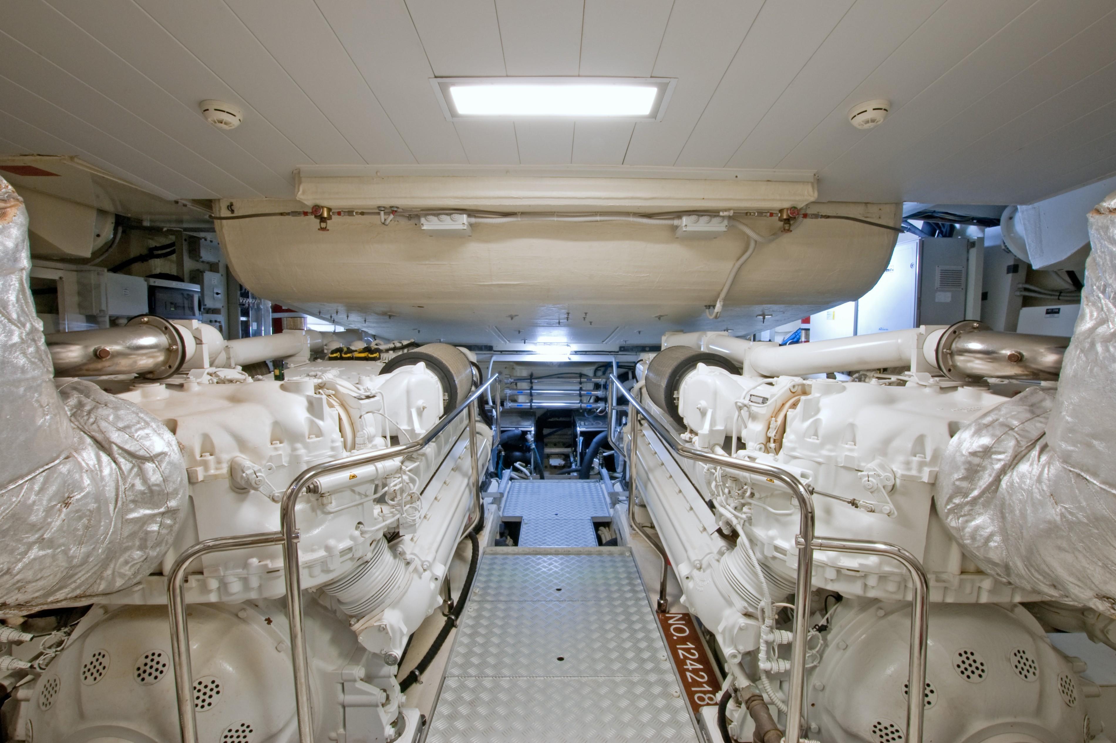 2012 Riva 86 Domino - Engine Room