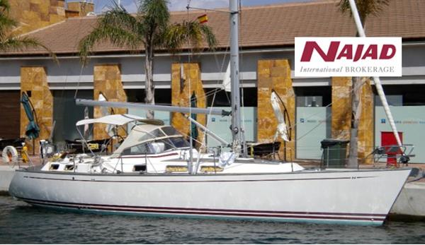 Najad 405 used boat for sale from Boat Sales International