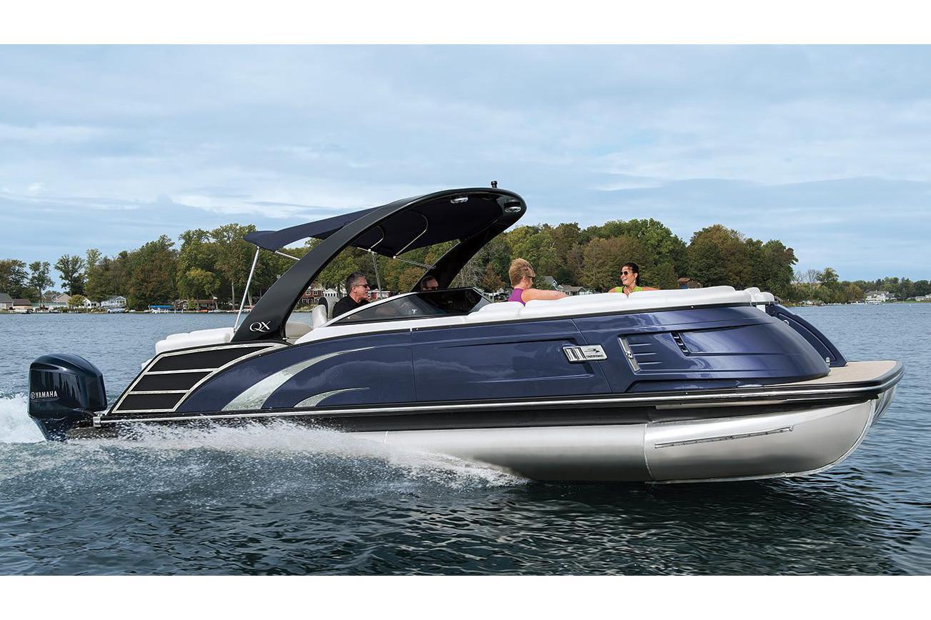 2019 Bennington QX 27 Wide-Beam Fastback - Anna's Marine Center