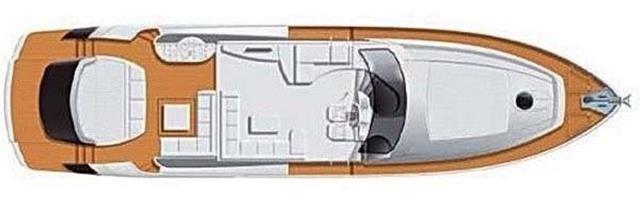 Pershing 72 - layout