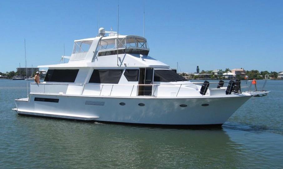 63 Viking Yachts 1988 Alegria For Sale In Ft Myers