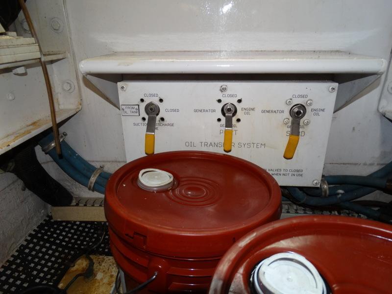 Port Engine Room Gauges