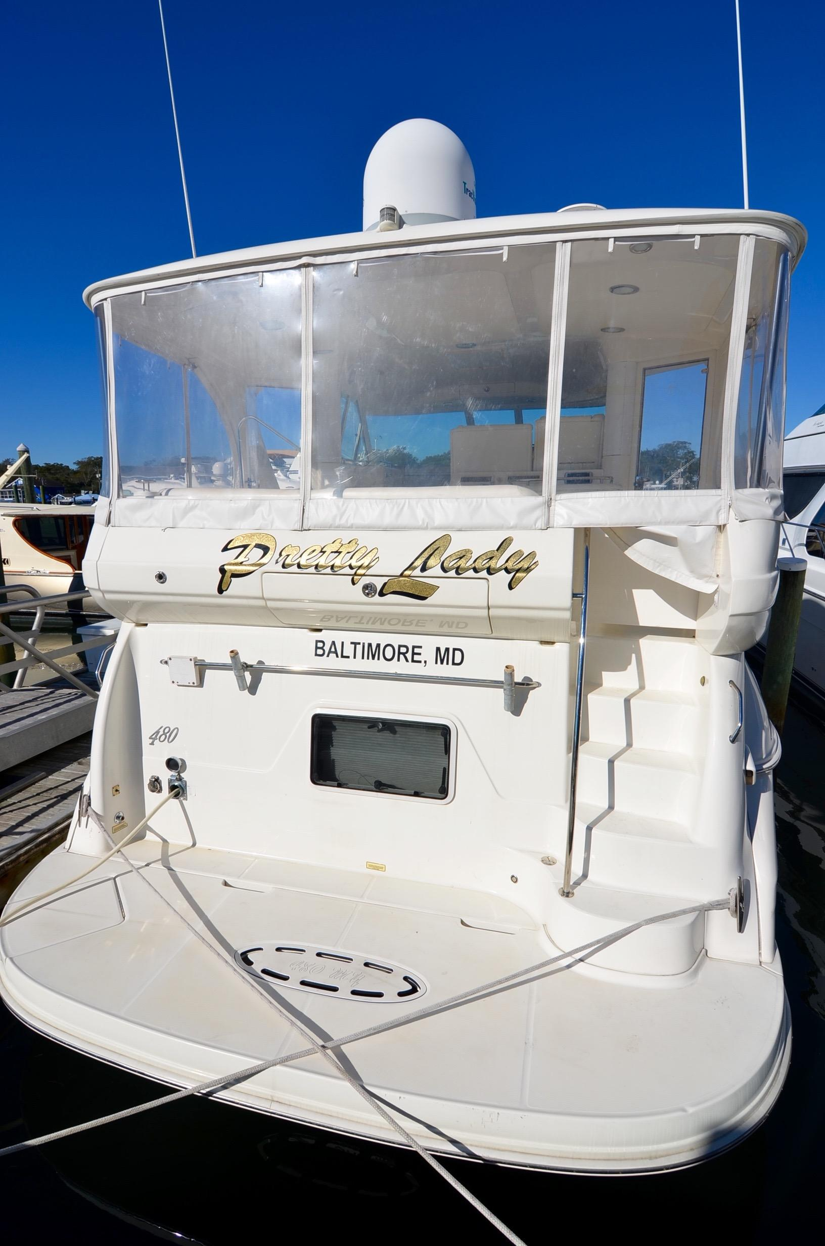 2004 sea ray 480 motor yacht for sale for 50 ft motor yachts for sale