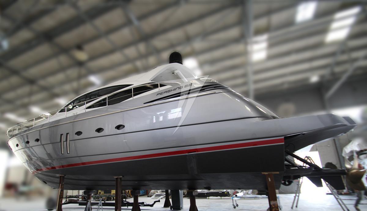 63.75 ft Pershing 62′