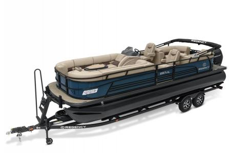 2020 Regency boat for sale, model of the boat is 250 LE3 w/300L Verado & Image # 2 of 27