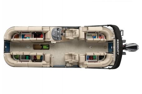 2020 Regency boat for sale, model of the boat is 250 LE3 w/300L Verado & Image # 18 of 27
