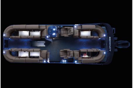 2020 Regency boat for sale, model of the boat is 250 LE3 w/300L Verado & Image # 19 of 27