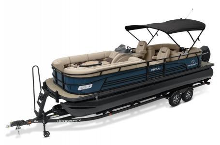 2020 Regency boat for sale, model of the boat is 250 LE3 w/300L Verado & Image # 3 of 27
