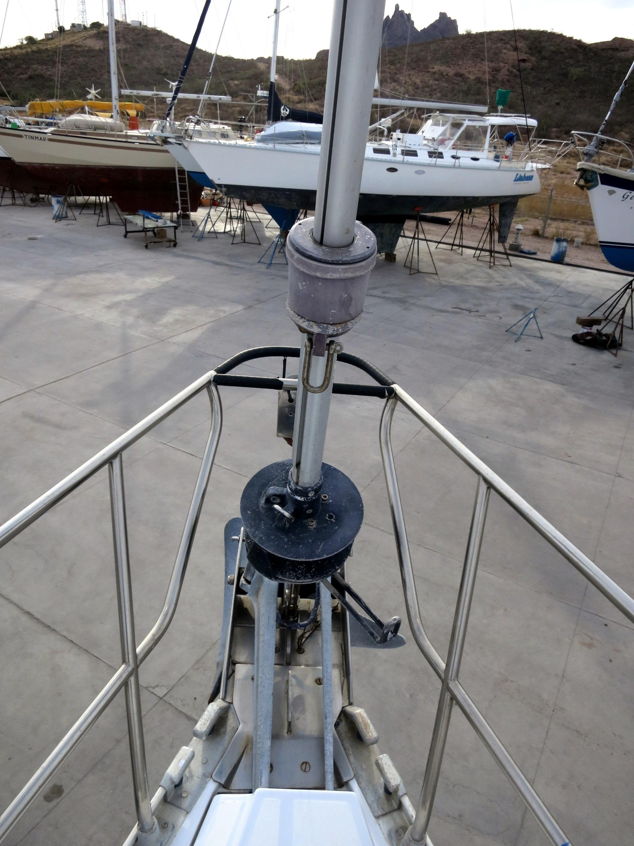Above Engine, Midships