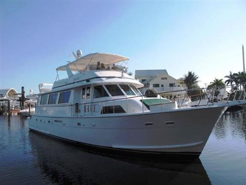 70 hatteras 1984 a frayed knot for sale in fort lauderdale for Motor yachts for sale in florida
